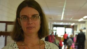 Maria Engblom, rektor för S:t karins svenska skola