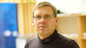 Jari Kiveliö, chef på på fritidsverket vid Vasa stad.
