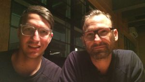 Felix Denk och Sven von Thülen