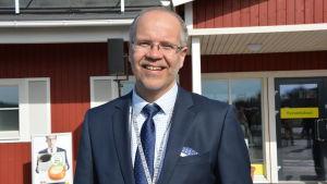 Hannu Krook, verkställande direktör för Varuboden-Osla.