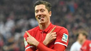 Robert Lewandowski gör sin tredje säsong i Bayern.