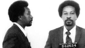 Saksofonisti Frank Morganin pidätyskuva vuodelta 1975.. Kuva dokumenttielokuvasta Vapauden sointi: Frank Morganin tarina.