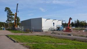 Nya företagslokaler byggs i Broby.