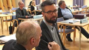 Fullmäktigeledamot Johan Kvarnström