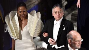 Alice Bah Kuhnke och Kazuo Ishiguro.