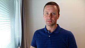 Oskar Berndtsson är koncernchef för Eurowork.