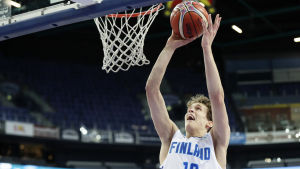 Basketspelare Jantunen