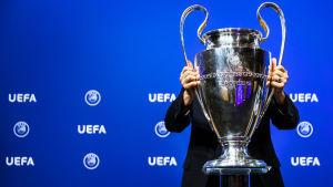 Uefa Champions League-pokalen.