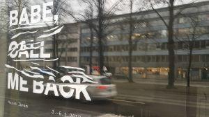 Bild på Asbestos Art Space i Helsingfors.
