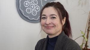 Johtaja / Heli Salminen / kelataksi / Lapinjärvi 21.01.2019