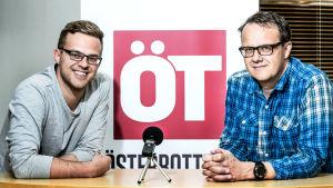 Björn Bredbacka och Sören Bäck gör ÖT:s fotbollspodd.