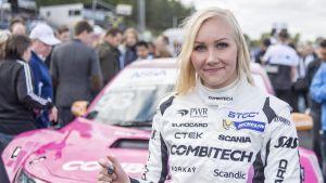 Finska Emma Kimiläinen i formulaserien W Series.