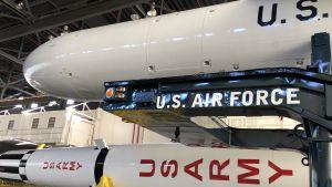 missiler på museum på Cape Canaveral