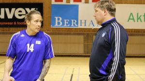 Andreas Rönnberg och Mikael Källman.