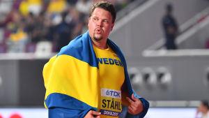 Daniel Ståhl i VM 2019.