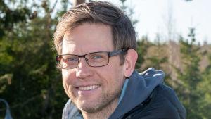 Cyklisten Kjell Carlström
