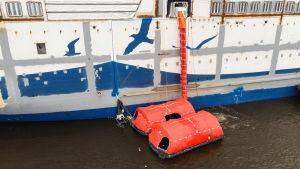 Aurora Botnias livräddningsbåtar