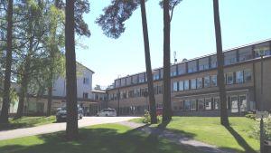 Sjukhusbyggnaden i Ekenäs.