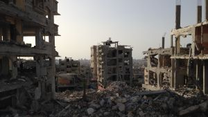 Förstörelse i Gaza, september 2014