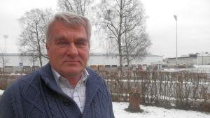 Harald Finne är styrelseordförande för FF Jaro i Jakobstad