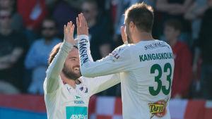 Robin Sellin och Aleksei Kangaskolkka låg bakom IFK:s 2-0 mål i Kuopio.