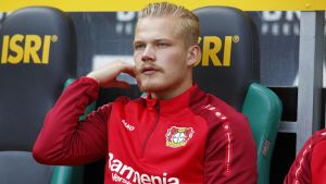 Joel Pohjanpalo har fått nöta bänk i Bayer Leverkusen.