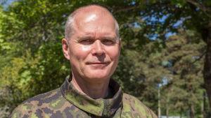 Jarmo Lindberg / puolustusvoimain komentaja / kenraali / santahamina 30.05.2018