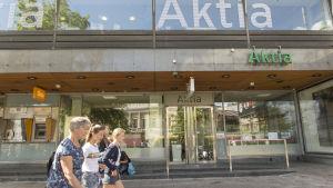 Aktias kontor vid Mannerheimvägen i Helsingfors.
