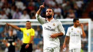 Dani Carvajal otippad segerskytt för Real Madrid.