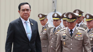 Den tidigare juntaledaren och nuvarande premiärministern, general Prayut Chan-ocha har visat intresse att inleda fredssamtal med rebellerna i södern