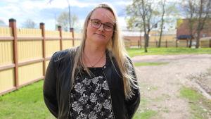 Kamalat äidit -vertaisryhmän pitäjä Marjut Lauronen.