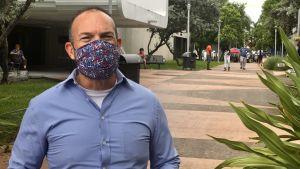Hector Nunes i Miami har nyligen röstat på Trump.