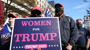 Trumps anhängare demonstrerade i Washington 14.11.2020