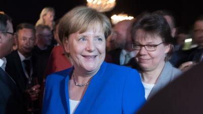 Merkel popularast bland tyska valjare