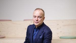 Porträtt på Markus Terho.