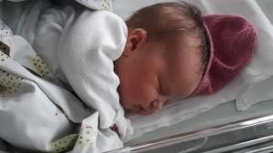 Bebis på Mellersta Österbottens centalsjukhus.
