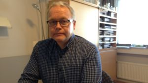 Erkki Penttinen, direktör för socialarbete och familjeservice vid Vasa stad