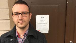 Nils-Johan Englund, ombudsman för FSD.