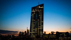 ECB-tornet i Frankfurt den 5 maj 2015.