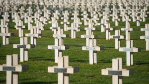 Begravningsplatsen Faubourg-Pavé vid Verdun.