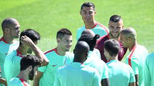 Cristiano Ronaldo och hans Portugal är redo för nationens andra EM-final. I den första föll laget med 0-1 mot Grekland för tolv år sedan.