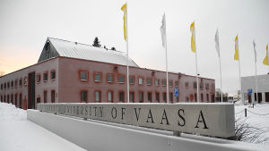 Universitetsbyggnad på Brändö i Vasa.