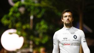 Jolyon Palmer i en Renault-tröja.