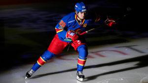 Eeli Tolvanen spelar KHL-hockey för Jokerit.