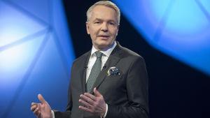 Presidenttiehdokas Pekka Haavisto, TV1 Presidenttitentti 16.01.2018