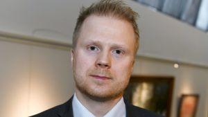 Pekka Hiltunen, specialutredare vid Skyddspolisen.