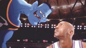Michael Jordan i filmen Space Jam.
