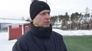 Reino Kärkkäinen är fritidschef i Raseborg.