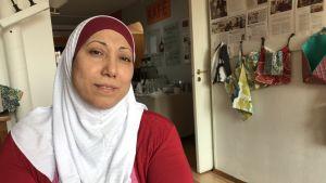Porträtt på Fatma Elzein.