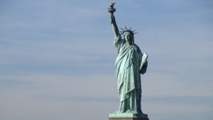 Frihetsgudinnans staty i New York